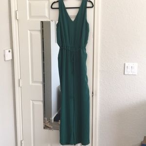 Kelly green Ann Taylor jumpsuit | NWOT